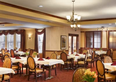 grace pointe dining room
